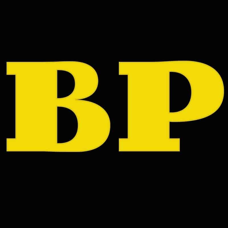 Logo BP Agencije zuto crni